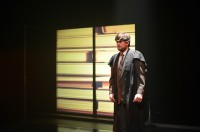 """Student Ty Quillon performs in the """"Dream Play"""" last semester."""
