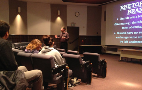 Lucas lectures about brands' rhetoric