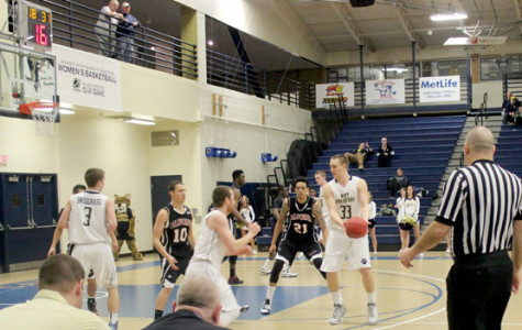 Basketball players striving for top six