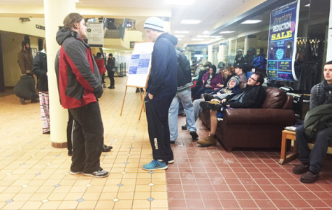 Students displaced after pipes burst