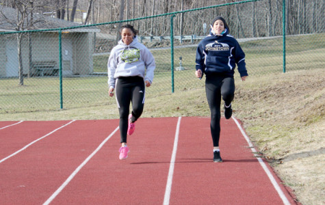 Outdoor practice spurs runners to quick times