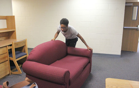As roommates leave, so does furniture