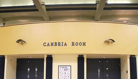 Faculty pay $200 to use Cambria Room
