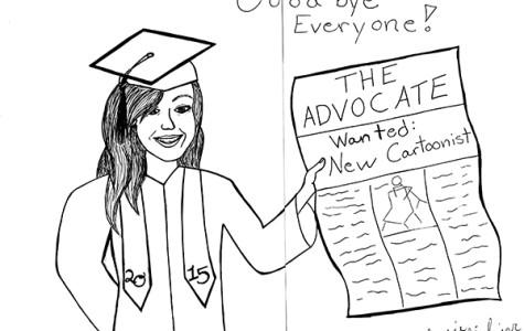 Student senate must advertise