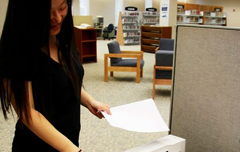 Unlimited printing in library halted