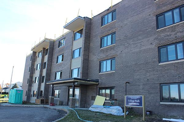The College Park Apartments Project Is Under Budget And Ahead Of Schedule