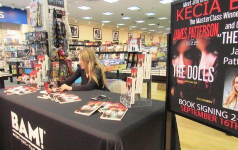 Alumna is crime thriller co-author