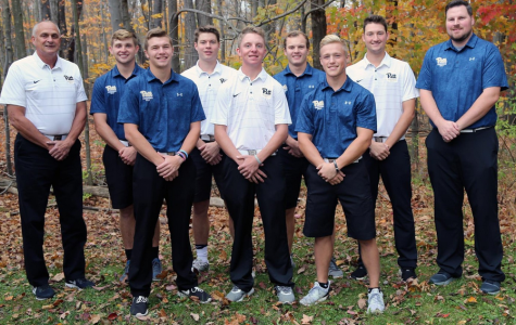 Mens golf finishes first half of fall golf season