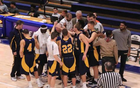 Men's basketball team faces adversity on road