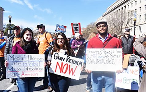 Students march for gun regulations