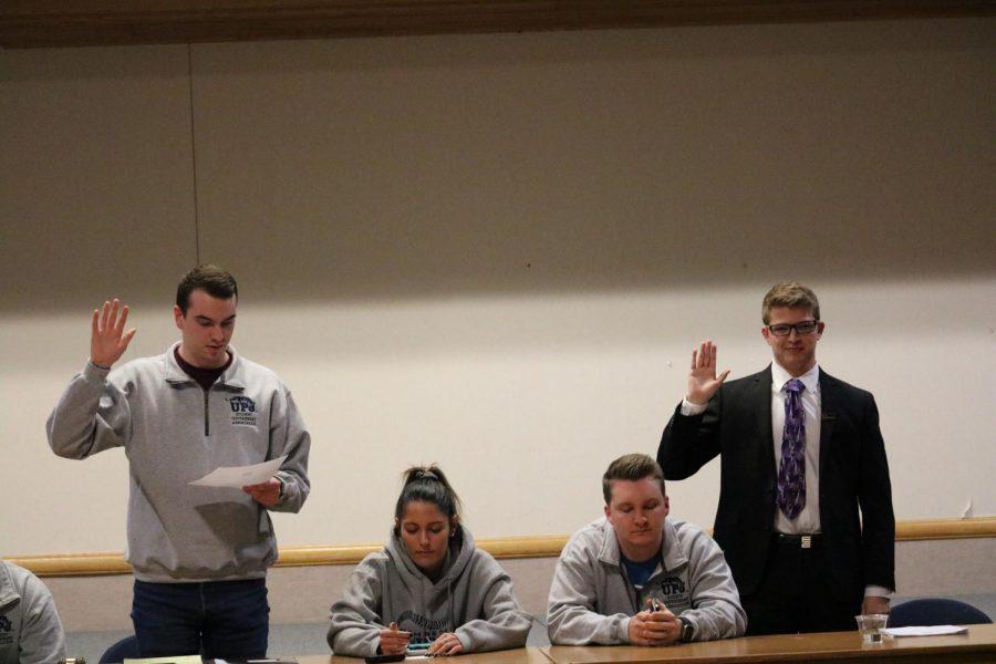 New president, vice president sworn in