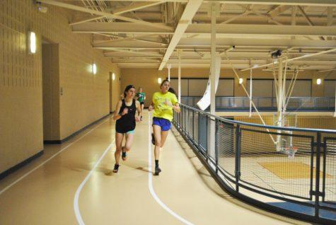 Track team sets records