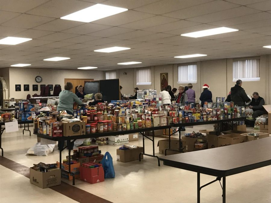 Food donating digests $605 in fines